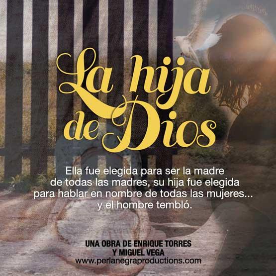 "poster of ""La hija de Dios"" webseries"
